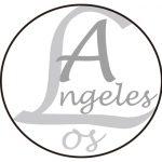 LAのロゴ風