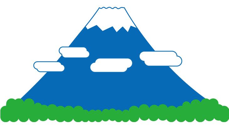 富士山簡略化