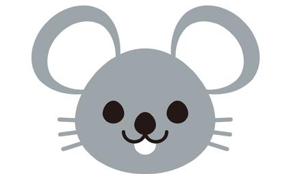ネズミ 顔のみ